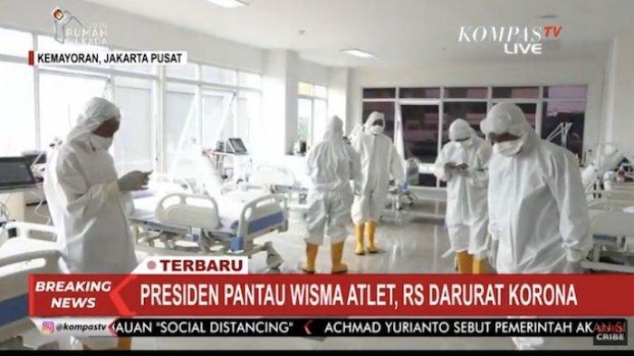 Kolonel Marinir Aris Mudian: Jumlah Pasien Covid-19 di RSD Wisma Atlet Menurun