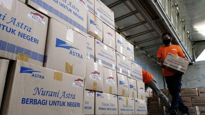 Bantuan Sosial Terkait Dampak Covid-19 Berlanjut, Kali ini Astra Donasi 127.232 Paket Sembako