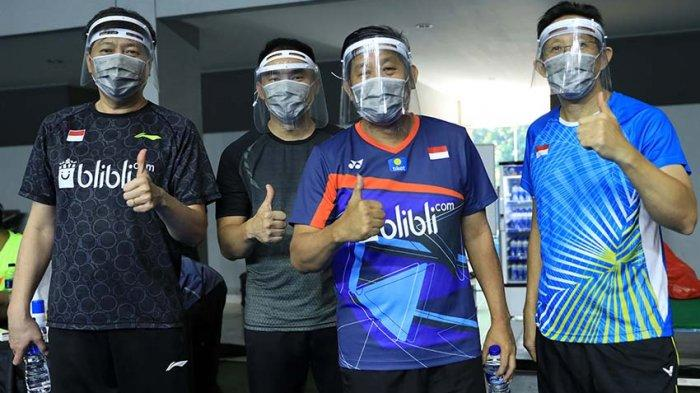 Herry Iman Pierngadi Pelatih Ganda Putra Fokuskan Latihan Daya Tahan Otot Tangan Dan Kaki