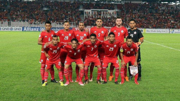 Persija Jakarta Ditahan Imbang Persita Tangerang 1-1 pada Laga Uji Coba
