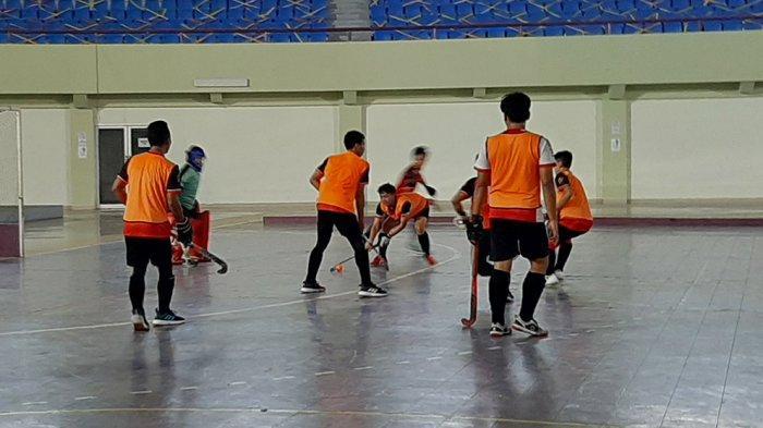 Tim Putra Hoki Indoor PON Banten Target Meraih Medali Emas Lewati Jabar dan DKI Jakarta