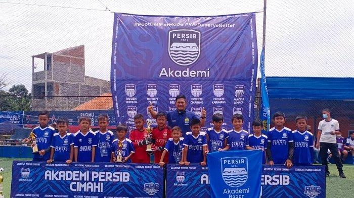 Akademi Persib Kota Bogor U-11 dan U-12 Raih Runner-Up di Festival Akademi Persib Se-Jawa Barat