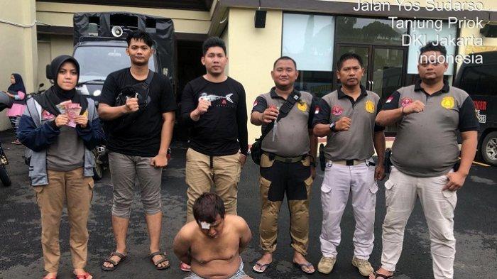 Pencuri dengan Senjata Tajam di Koja Ditangkap Tim Tiger Polres Metro Jakarta Utara