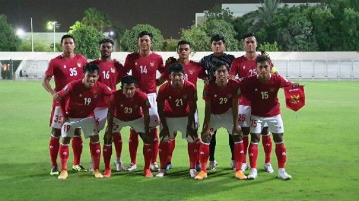 Pasukan Merah Putih Kalah 2-3 dari Timnas Afghanistan pada Pertandingan Uji Coba Pertama di Dubai