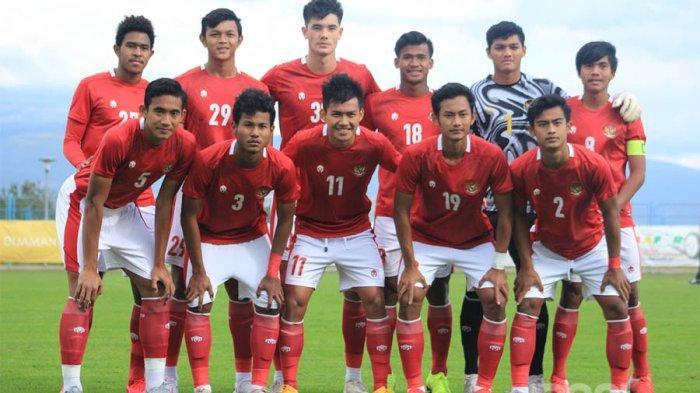 Skuad Timnas Indonesia yang lagi training center di Kroasia dengan pelatih Shin Tae-yong