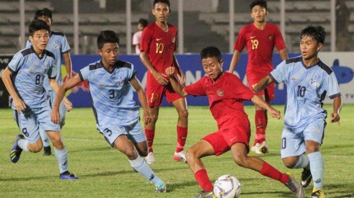 Link Live Streaming Timnas U-16 Indonesia vs China di SUGBK, Live RCTI, Harga Tiket Mulai Rp 50.000