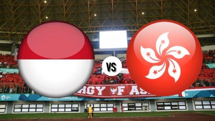 LIVE STREAMING Timnas Indonesia Vs Hongkong, Ini Susunan Pemain Timnas Indonesia