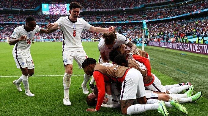 Inggris Buat Sejarah Baru Taklukkan Jerman 2-0 di Fase Gugur Piala Eropa 2020