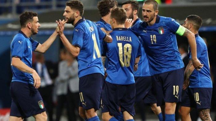 Susunan Pemain Timnas Italia yang akan Diturunkan Lawan Turki, Locatelli dan Berardi Jadi Starter?