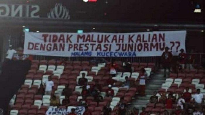 #MendingBubar Membahana di Twitter Begitu Timnas Indonesia Kalah Lagi dari Malaysia 0-2