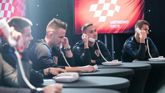 Timnas Kroasia Menggelar Malam Dana untuk Anak-anak