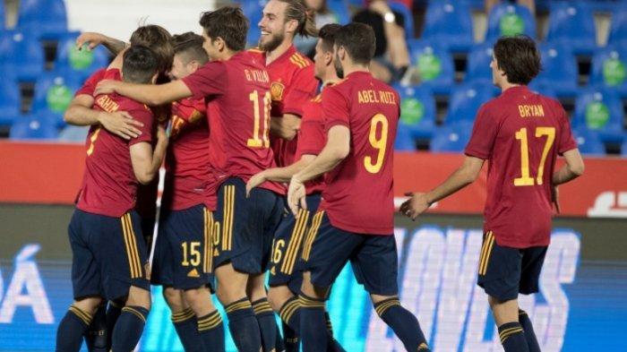 Euro 2020: Saat Skuad Timnas Spanyol Dikarantina, Timnas Mudanya Malah Perkasa, Bantai Lituania 4-0