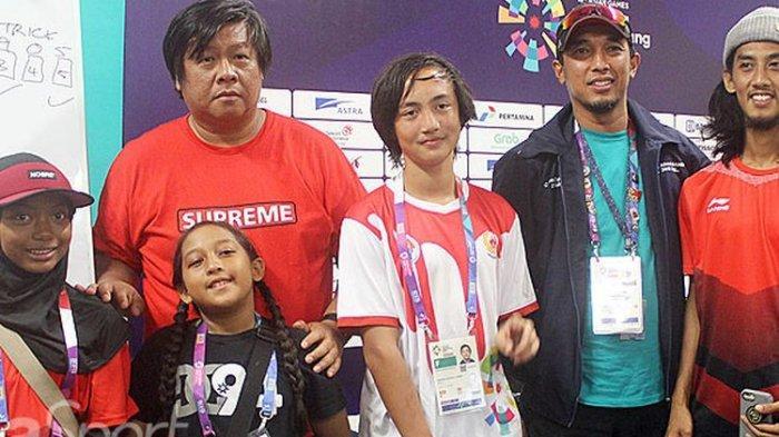 Timnas skateboard Indonesia Target 2 Emas di SEA Games 2019