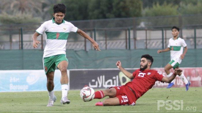 AhmadAthallah Raihan Bertekad Bawa Timnas U-16 Tampil Lebih Baik pada Uji Coba Kedua Lawan UEA
