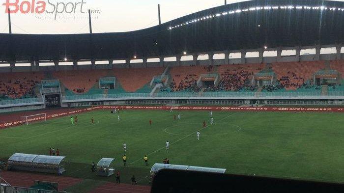 SEDANG BERLANGSUNG Babak Pertama 1-1 Timnas U-23 Indonesia Sempat Unggul Lebih Dulu Lalu Penalti