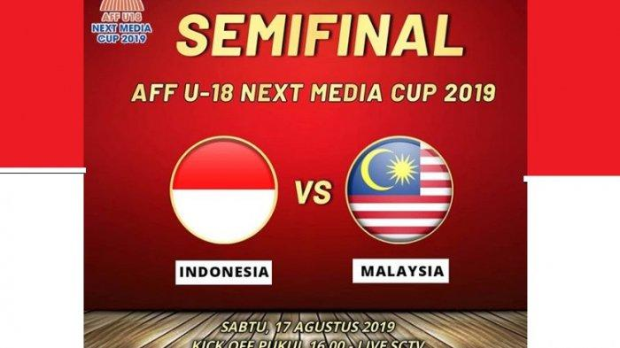 Link Live Streaming Indonesia U-18 vs Malaysia, Media Malaysia Soroti Latihan Adu Penalti Indonesia