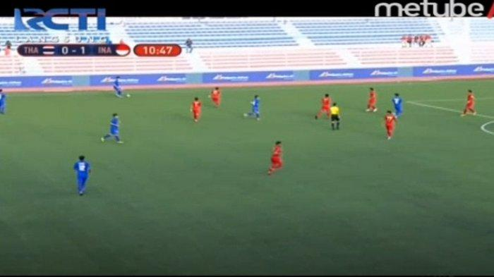 LIVE STREAMING: Masih Berlangsung, Timnas U23 Indonesia Unggul atas Thailand Berkat Gol Egy