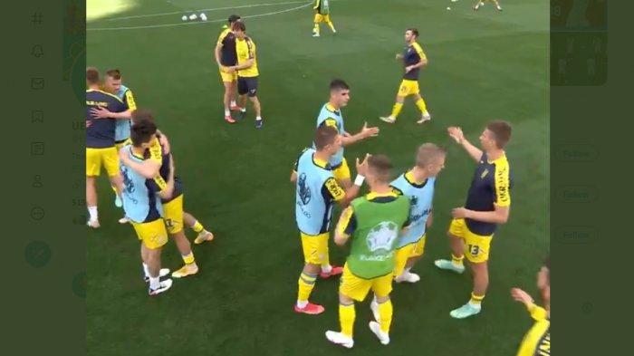 Sedang Berlangsung Ukraina vs Austria 0-1, Gol Christoph Baumgartner Menit 21