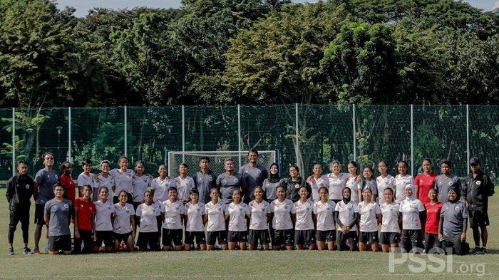 Skuad Garuda Pertiwi Akhiri Pemusatan Latihan Dengan Materi Latihan Ketahanan Fisik dan Bleep Test