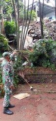 Trauma Bencana Dua Tahun Lalu, Warga Sukmajaya Depok Berharap Perbaikan Tebing Longsor Cepat Selesai