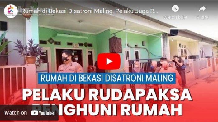VIDEO Dirudapaksa Perampok di Bekasi, Ayah Korban Minta Pelaku Segera Ditangkap dan Dihukum Setimpal