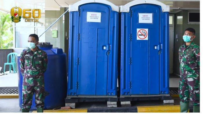 KSAD Jenderal Andika Perkasa Sediakan Toilet Portable untuk Tenaga Medis RSPAD