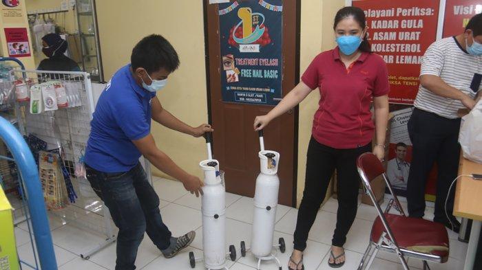 VIDEO : Permintaan Tabung Oksigen Meningkat, Harus Pesan Dulu