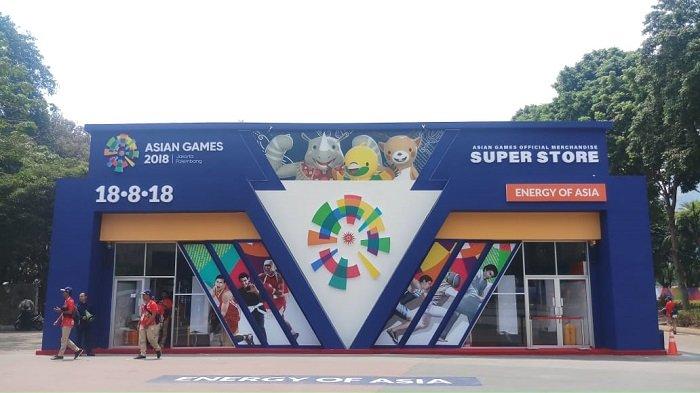 Penjualan Souvenir Asian Games Capai 3000 Item Per Hari