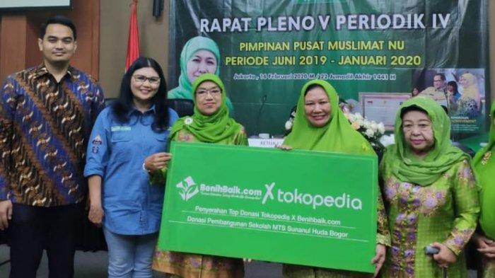 Hasil Uluran Tangan Toppers, Tokopedia dan BenihBaik.com Serahkan Donasi Pembangunan MTS di Bogor