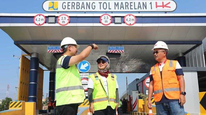BERITA FOTO : Jalan Tol Trans Sumatera Terus Dikebut PT Hutama Karya
