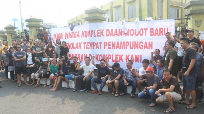 Spanduk Penolakan Pengungsi Asing di Kalideres Bertebaran, Kelurahan Siapkan Antisipasi