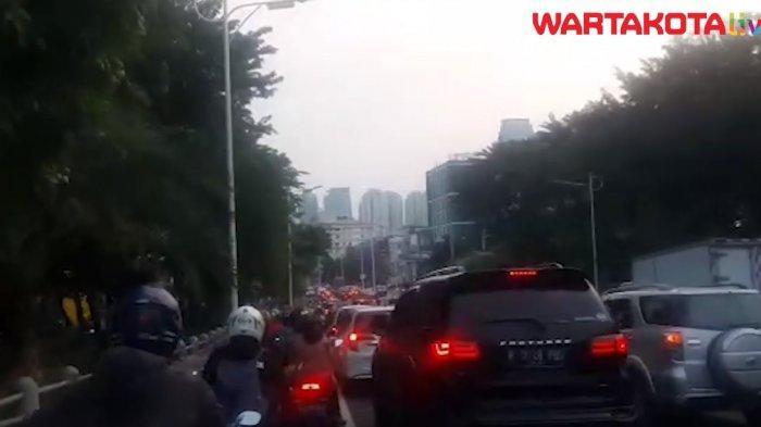 VIDEO: Jalan Suryopranoto Ramai Lancar Kamis Sore, Mulai Macet di Jalan Tomang Raya