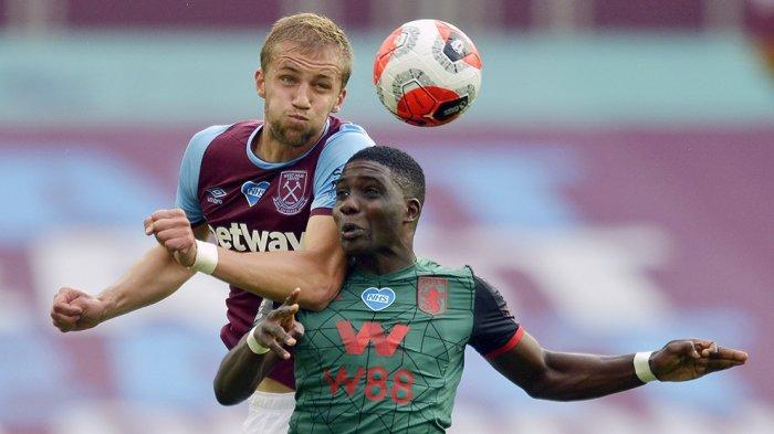 Tomas Soucek pemain pinjaman West Ham United dari