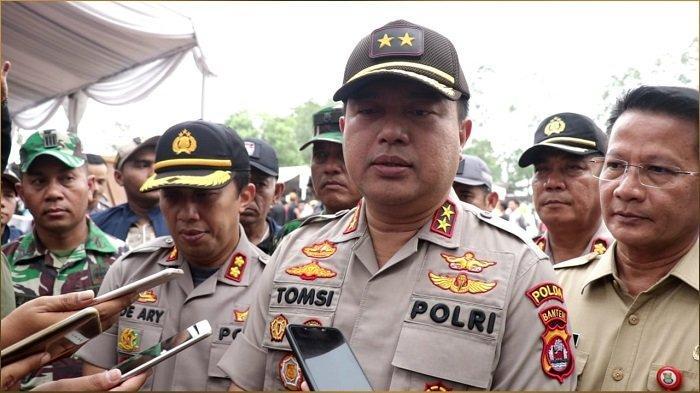 Pastikan Pilkades Tangerang Aman, Kapolda dan Wakapolda Banten Pantau Sejumlah Desa