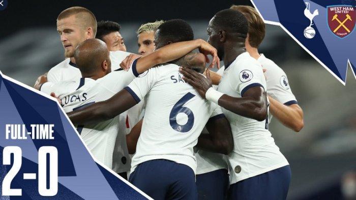 Tottenham Hotspur Bungkam West Ham United 2-0, Dapat Keuntungan Gol Bunuh Diri