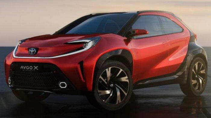 Toyota Tampilkan Mobil Konsep Berjenis SUV Mini Bertampang Gahar, Aygo X Prologue