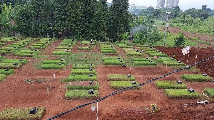 Baru Dibuka Awal Januari 2021, Lahan Baru TPU Jombang untuk Jenazah Covid Tinggal 352 Lubang Makam