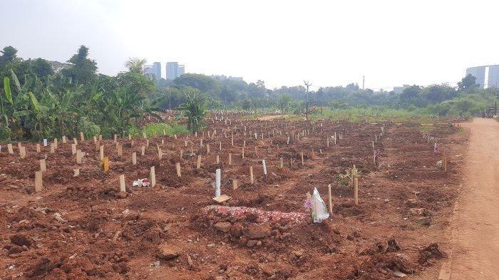 TPU Jombang Tangsel Buka Lahan Baru untuk Pemakaman Jenazah Covid-19, Kapasitasnya 1.000 Makam