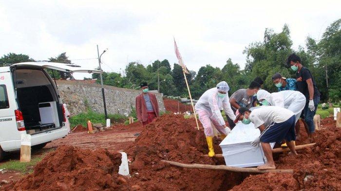 119 Jenazah Covid-19 Telah Dimakamkan di TPU Jombang Tangsel, Tapi Upah Penggali Kubur Belum Dibayar