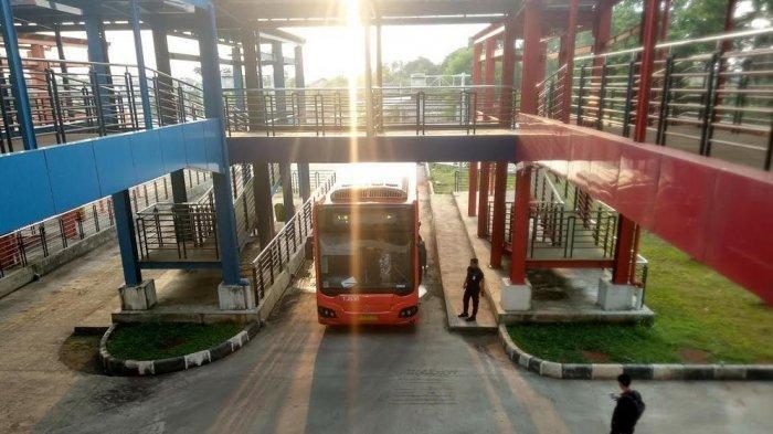 Setahun Beroperasi, Kondisi Terminal Pondok Cabe Tetap Sepi Penumpang