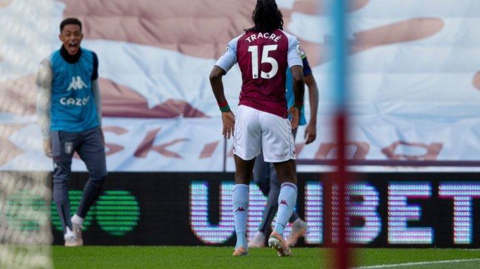 Hasil Babak Pertama Aston Villa vs Manchester United 1-0, MU Kecolongan Gol Bertrand Traore