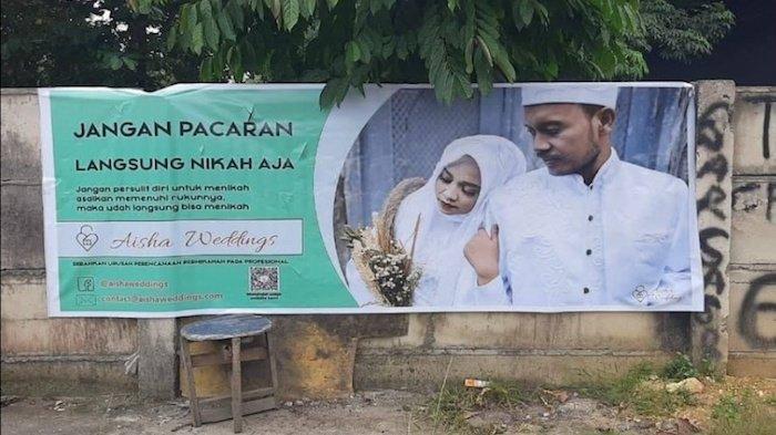 Trending Topik Twitter Hari Ini Kamis (11/2) Aisha Wedding Dianggap Melecehkan dan Tak Bermoral