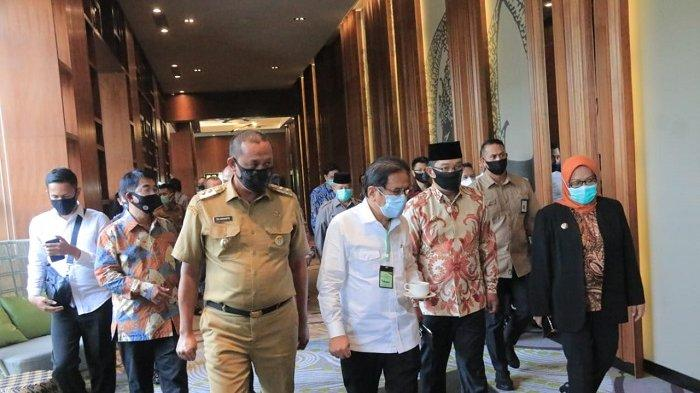 Tri Adhianto Curhat Soal Banjir dan Pencemaran Kali Bekasi ke Sofyan Djalil dan Ridwan Kamil