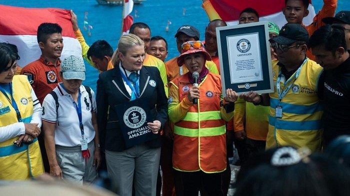 Sukses Pecahkan Satu Rekor Dunia Selam, WASI Incar Dua Rekor Dunia Lain di HUT ke-74 RI