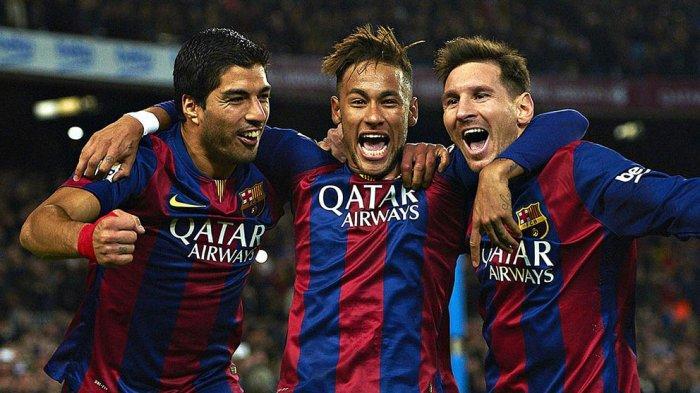 Trio MSN (Messi, Suarez, dan Nyemar) sempat menjadi momok barisan belakang tim lawan di Laliga