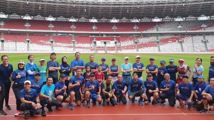 Komunitas Trisakti Runners Hadir dan Usung Semboyan Trisakti Solid, Indonesia Jaya!
