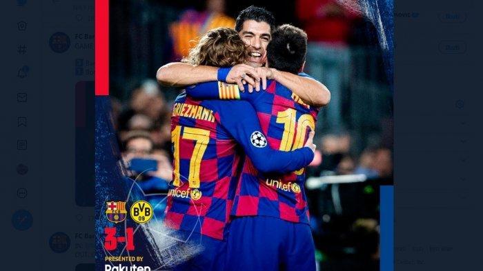Starting XI dan Link Live Streaming Atletico vs Barcelona, Mainkan Griezmann, Suarez dan Messi