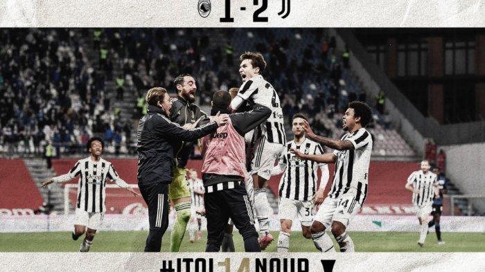 Kalahkan Atalanta 2-1, Juventus Menjadi Juara Coppa Italia 2020-2021, Tropi ke-14 Nyonya Tua