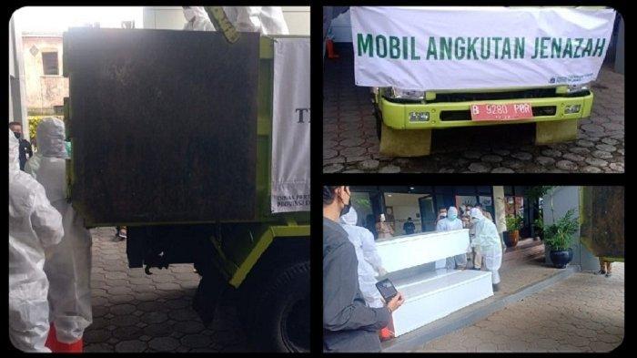 Kini Jenazah Pasien Covid-19 di Jakarta Diangkut Pakai Truk, 'Dinas Pemakaman Sudah Capek Semua'