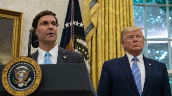 Keinginan Kerahkan Tentara untuk Hadapi Demo Ditolak, Trump Siap-siap Pecat Menhan AS